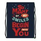 Мешок для сменки МО-20 Smiles