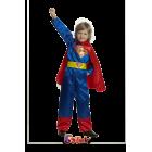 """Костюм карнавальный """"Супермен"""" размер 30 текстиль"""