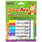 Мелки для тела 6 цветов Body Art