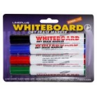 Комплект маркеров для досок 4цв. Line Plus 4WBM-600B