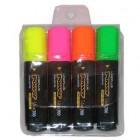 Комплект маркеров текстовыделителей 4 цвета Line Plus 4HI-700C