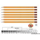 Карандаш K-I-N 1500 разной твердости 10H-8B (цена за штуку)