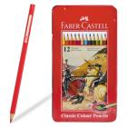 "Карандаши 12цв. Faber Castell ""Рыцари"" мет.кор."